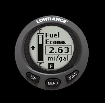 Lowrance - LMF 200 - števec