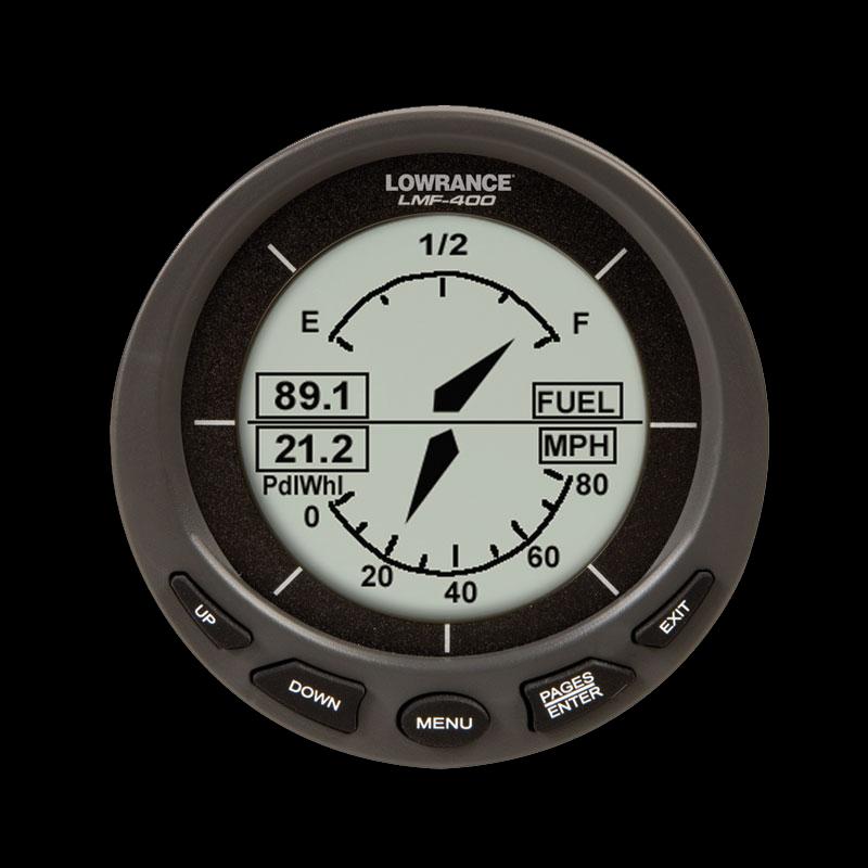 Lowrance - LMF 400 - števec