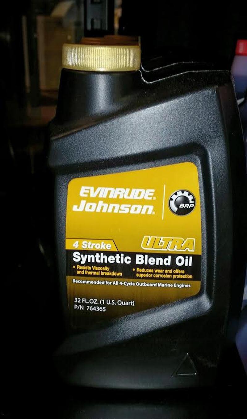 Olje Evinrude - 4 Stroke