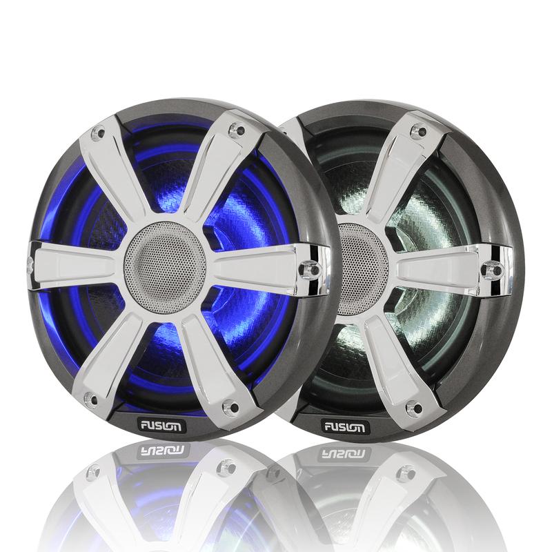 Zvočniki - Fusin Marine 7,7 - LED - Krom
