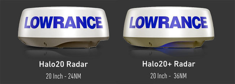 Lowrance HALO 20 - Radar