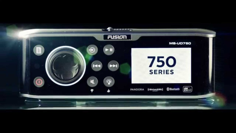 Radio - Fusion Marine 750 - CD/DVD
