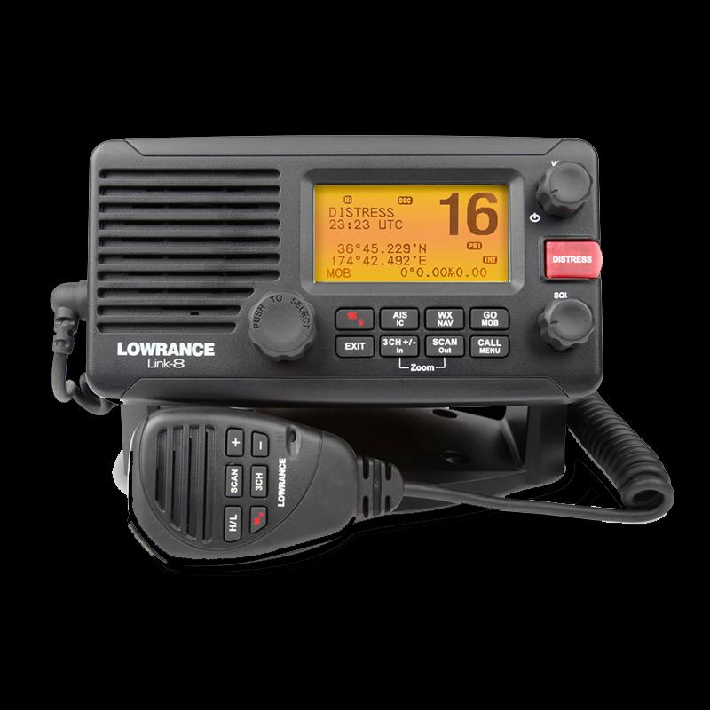 Lowrance - VHF - Link 8 DSC