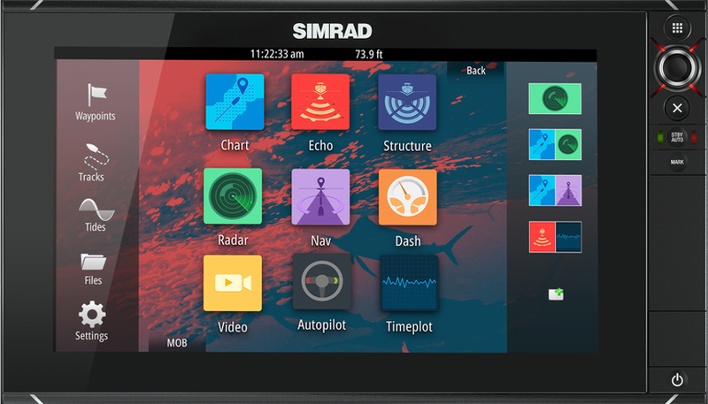 SIMRAD NSS-9 EVO2 - Touch