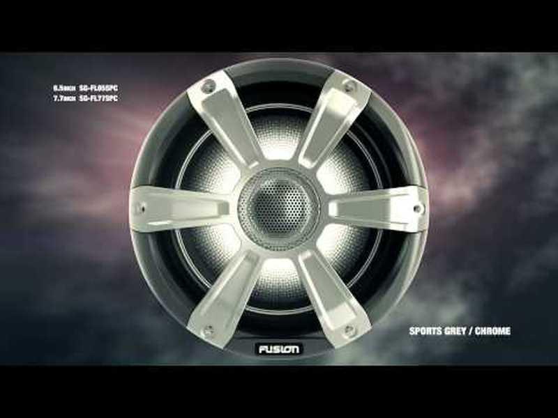 Subwoofer Sports 450W LED - Crome
