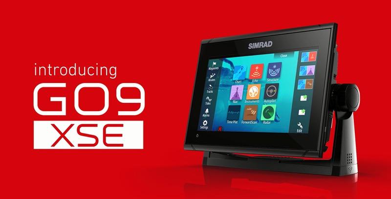 SIMRAD GO 9 - Touch