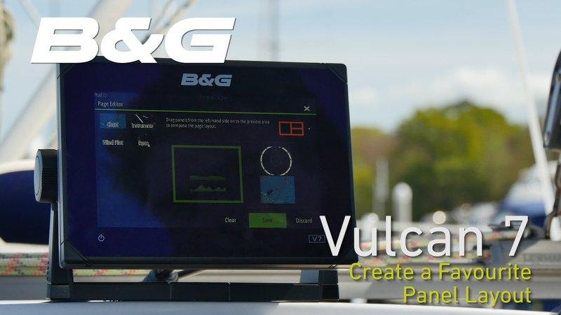B&G Vulcan 7