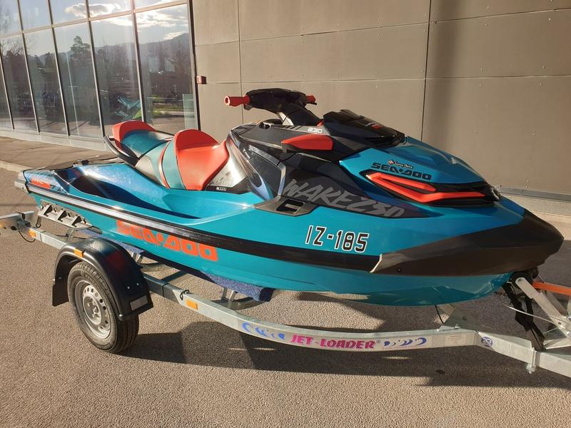 SEA DOO WAKE PRO 230 - salonsko testni