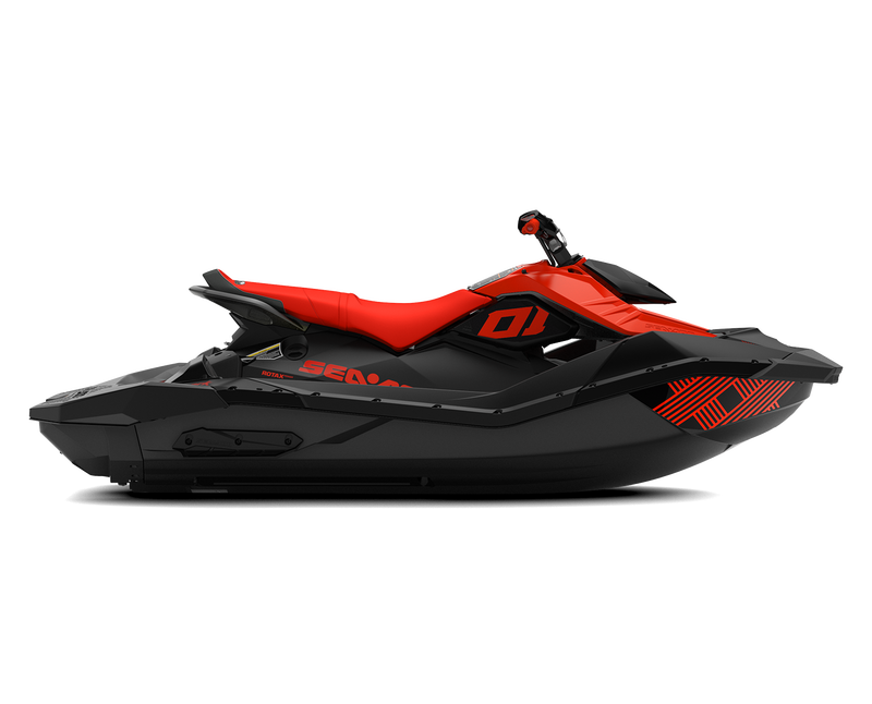 SEA-DOO SPARK 3UP - TRIXX - iBR - 90hp - Lava Red