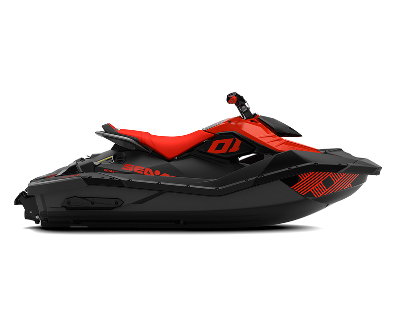 SEA-DOO SPARK 2UP - TRIXX - iBR - 90hp - Lava Red