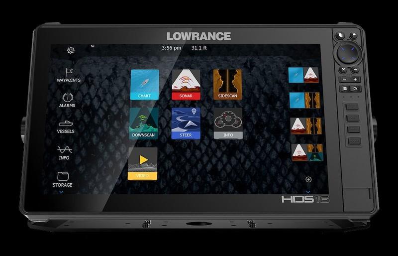 LOWRANCE HDS 16 LIVE - AL3IN1