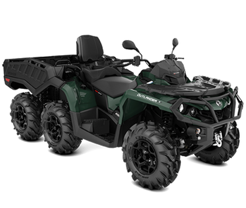 CAN-AM OUTLANDER MAX 6X6 XU+ SIDE 650 T-60km/h