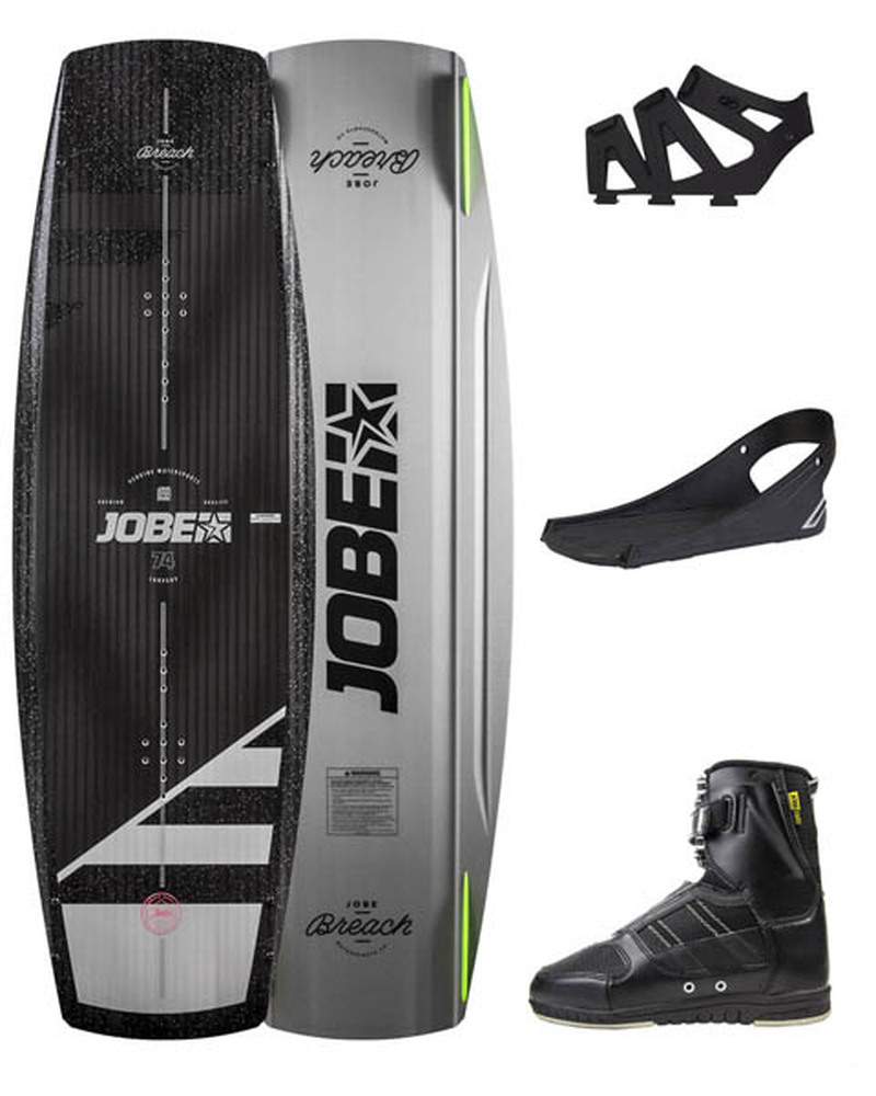 JOBE BREACH WAKEBOARD 135 & DRIFT BINDINGS SET