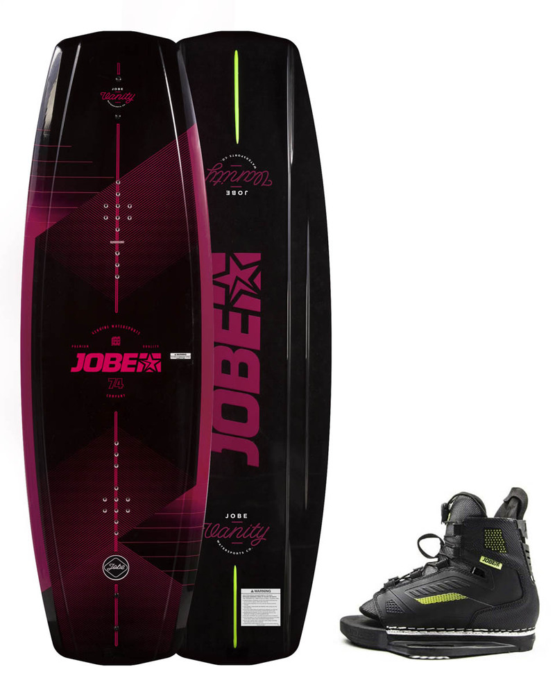 JOBE VANITY WAKEBOARD WOMEN 131 & UNIT BINDINGS SET