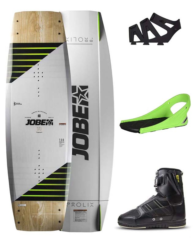 JOBE PROLIX WAKEBOARD PREMIUM 138 & DRIFT BINDINGS SET