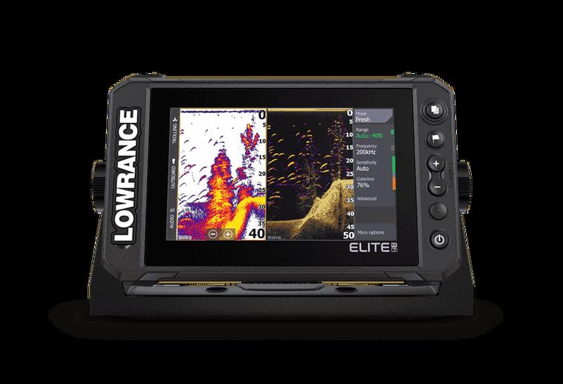 Lowrance Elite 7 FS z sondo HDI M/H 455/800